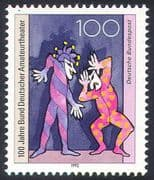 Germany 1992 Clown/ Jester/ Actors/ Theatre/ Acting/ Entertainment 1v (n29662)