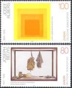Germany 1993 Europa/ Contemporary Art/ Painting/ Sculpture/ Artists 2v set (n33576)