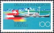 Germany 1993 Lake Steamer/ Boat/ Ferry/ Flags/ Transport/ Tourism/ Nautical 1v (n27900)