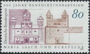 Germany 1993 Maria Laach Abbey/ Bursfelde Abbey/ Buildings/ Architecture/ Religion/ Heritage 1v (n45377)