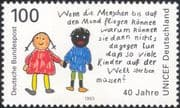 Germany 1993 Welfare Fund Committee/\Child/\Children/ UN/ UNICEF/ Animation 1v (n45425)