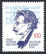 Germany 1994 Pfitzner/ Music/ Composer/ People/ Musical Score/ Musicians 1v (n31568)