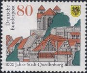 Germany 1994  Quedlinberg/ Town Buildings/ Church/ Architecture/ Heritage 1 v  (n46440)