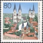 Germany 1996  Halberstadt Cathedral/ Churches/ Town Buildings/ Architecture/ Heritage 1v (n45076)