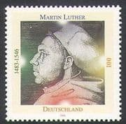 Germany 1996 Martin Luther  /  Religion  /  People  /  History 1v (n34221)