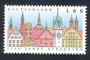 Germany 1997 Straubing  /  Clock Tower  /  Buildings  /  Architecture 1v (n33567)