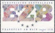 Germany 1998 European Central Bank/ EZB/ ECB/ Money/ Commerce/ Euro Notes 1v (n45533)