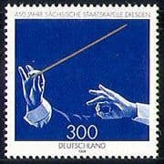 Germany 1998 Music/ Saxony State Orchestra 450th Anniversary/ Conductor/ Hands/ Entertainment 1v (n29526)