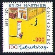 """Germany 1999 Kastner/ """"Emil and the Detectives""""/ Books/ Literature/ Writers/ Authors/ Animation 1v (n29524)"""