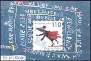 Germany 1999 Mouse/ Children's Welfare/ Animals/ Animation 1v m/s (s2520)
