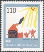 Germany 1999 SOS Children's Villages/ Welfare/ Health/ Animation/ Art 1v (n45385)