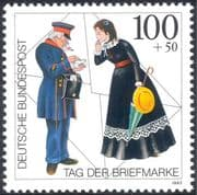 Germany 1999 Stamp Day/ Postman/ Woman/ Letter/ Mail/ Animation 1v (n44045)
