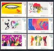 Germany 2000 Expo  /  Buddha  /  Music  /  Map  /  Calligraphy  /  Youth  /  Leisure  /  Tourism 6v (n33494)