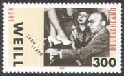 Germany 2000 Kurt Weill  /  Music  /  Composer  / Piano/ Theatre  /  Entertainment  /  People 1v (n33351)