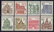 Germany (B) 1964 Buildings  /  Architecture 8v set (n28472)