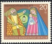 Germany (B) 1972 Christmas/ Greetings/ Nativity/ Holy Family/ Animation 1v (g10118)