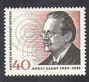 Germany (B) 1974 Adolf Slaby  /  Radio  /  Telecomms  /  Communications  /  People 1v (n37078)