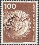 Germany (B) 1975 Industry/ Technology/ Brown Coal Excavator/ Lignite/ Mining/ Minerals 1v (n25430f)