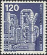 Germany (B) 1975 Industry/ Technology/ Chemical Plant/ Chemicals/ Factory/ Factories 1v (n25430h)