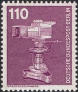 Germany (B) 1975 Industry/ Technology/ Colour Television Camera/ TV 1v (n25430g)