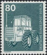 Germany (B) 1975 Industry/ Technology/ Farm Tractor/T ransport/ Farming/ Tractors 1v (n25430e)