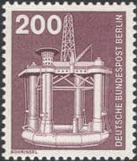 Germany (B) 1975 Industry/ Technology/ Oil Well/ Marine Drilling Platform/ Energy 1v (n25430r)