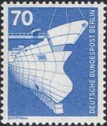 Germany (B) 1975 Industry/ Technology/ Ship Building/ Transport/ Boats 1v (n25430d)