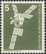 Germany (B) 1975 Industry/ Technology/ Telecommunications Satellite/ Space/ Telecomms 1v (n25430a)