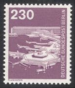 Germany (B) 1975 Planes/ Aircraft/ Airport/ Transport/ Aviation/ Buildings 1v( n25088)