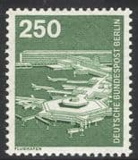 Germany (B) 1975 Planes/ Aircraft/ Airport/ Transport/ Aviation/ Buildings 1v (n25090)