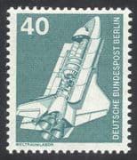 Germany (B) 1975 Space/ Rocket/ Shuttle/ Laboratory/ Transport/ Science 1v (n25432)