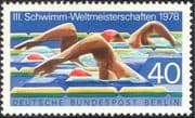 Germany (B) 1978 Sports/ World Swimming Championships/ Animation 1v (n28275)