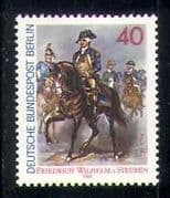Germany (B) 1980 Horses  /  General  /  Military  /  Army 1v n27681