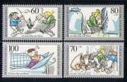 Germany (B) 1990 Cartoons  /  Books  /  Animation 4v set n27539