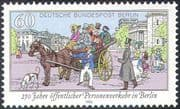 Germany (B) 1990 Public Transport/ Horse-drawn Carriage/ Coach/ Dog 1v (n27677)