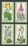 Germany (Berlin) 1977 Meadow Flowers 4v set (n21884)