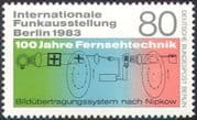 Germany (Berlin) 1983 TV/ Broadcasting/ Radio/ Television/ Inventors 1v (n23582)
