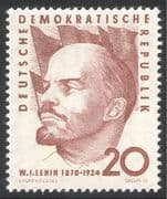 Germany (DDR) 1960 Lenin/ Politics/ People/ Government/ Communism 1v (n43656)