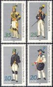 Germany (DDR) 1978 Gala Uniforms/ Mining/ Minerals /Miners/ Industry/ Workers/ Dress/ Costumes 4v set n41796
