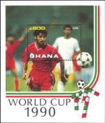 Ghana 1990 Football/ World Cup Championships/ WC/ Sport/ Games/ Soccer 1v m/s (s1635e)