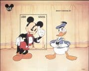 Ghana 1994 Disney/ Mickey Mouse 65th/ Donald Duck/ Films/ Cartoons/ Animation 1v m/s (b4762x)