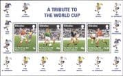 Gibraltar 1998  Football/ World Cup Championships/ WC/ Sports/ Soccer/ Games  4v m/s  (s6390)