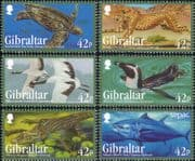 Gibraltar 2013 Cheetah/ Turtle/ Penguin/ Tuna/ Birds/ Animals/ Nature/ Wildlife 6v set (b8436g)