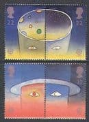Great Britain 1991 Europa  /  Animated Space 4v s-t n22037