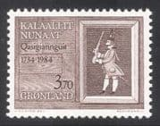 Greenland 1984 Christianshab 250th Anniversary/ Grenadier Soldier/ Army/ Military/ Animated 1v (n30269)