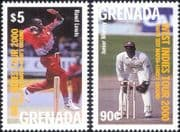 Grenada 2000  West Indies Cricket/ Test Match/ Sports/ Games/ Lord's/ MCC 2v set (s1693h)