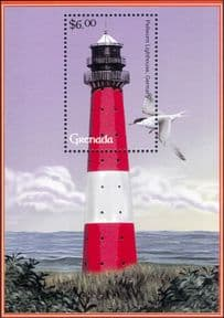 Grenada 2001  Lighthouses/ Maritime Safety/ Buildings/ Architecture  1v m/s  (n41510f)