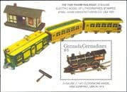 Grenada Grenadines 1992  Model Railways/ Steam Engine/ Trains/ Rail/ Toys/ Transport 1v m/s (b9790l)
