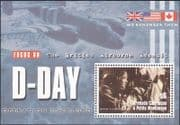 Grenada Grenadines 2004 D-Day/Plane/Aviation/WWII/Military/War 1v m/s (n32452)