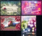 Grenadines of Grenada 2000 Christmas/ Greetings/ Bauble/ Presents/ Bauble/ Beach  4v set (n19371a)